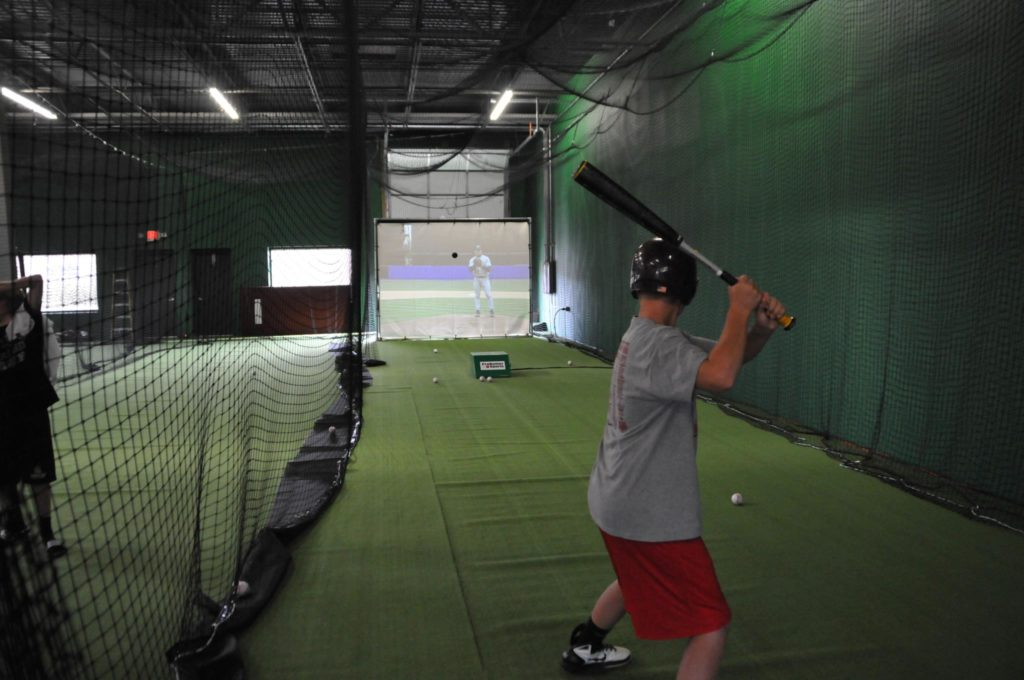 Practice baseball at Replay Sports n Training