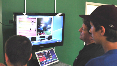 Video Analysis of Baseball Practice